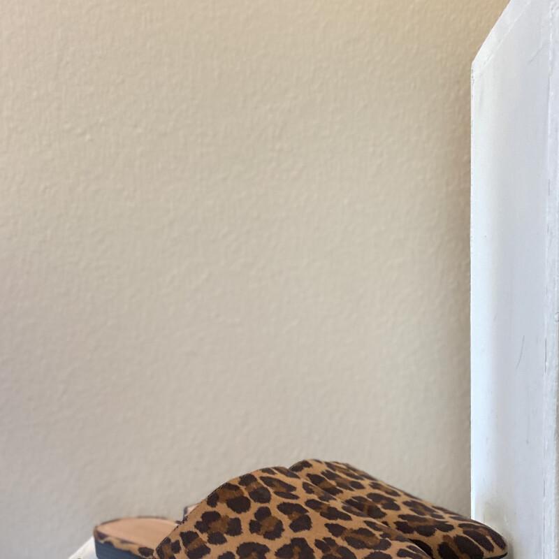 NWT Cheetah Mule