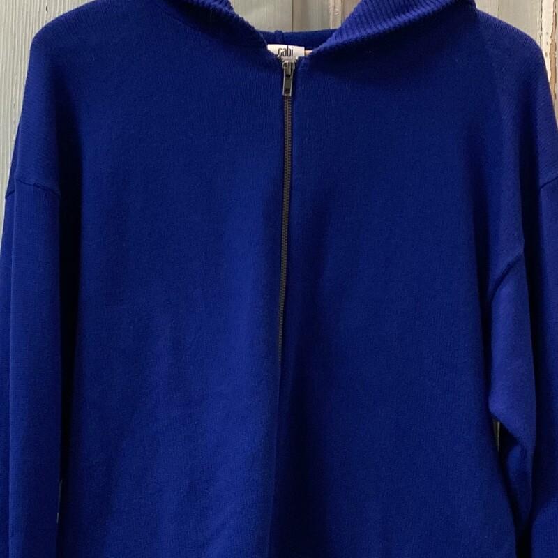 Royal Zip Sweater W/hood