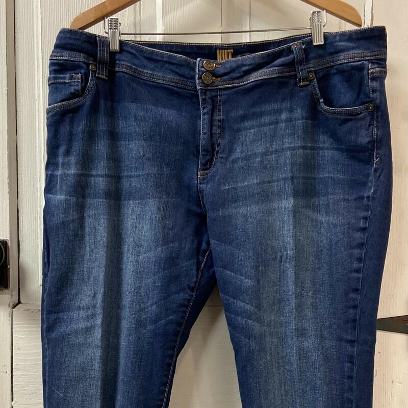 Denim Cuffed Jeans