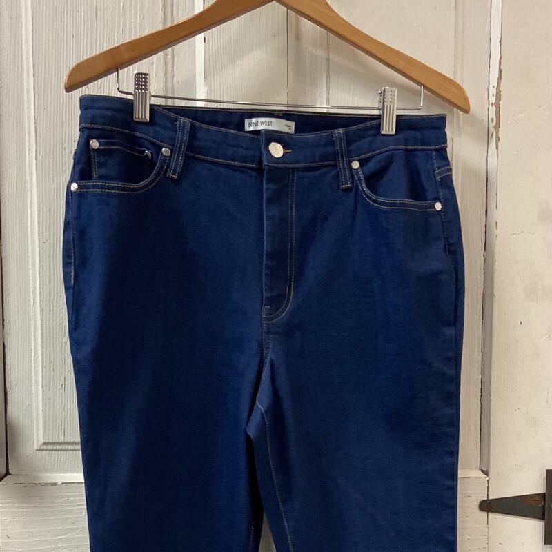 Den Frayed Flare Jeans