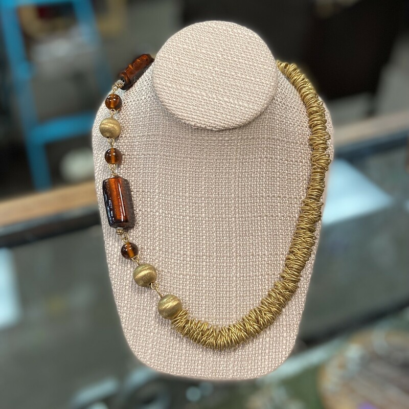 Brss/ring/bw Bead Neck