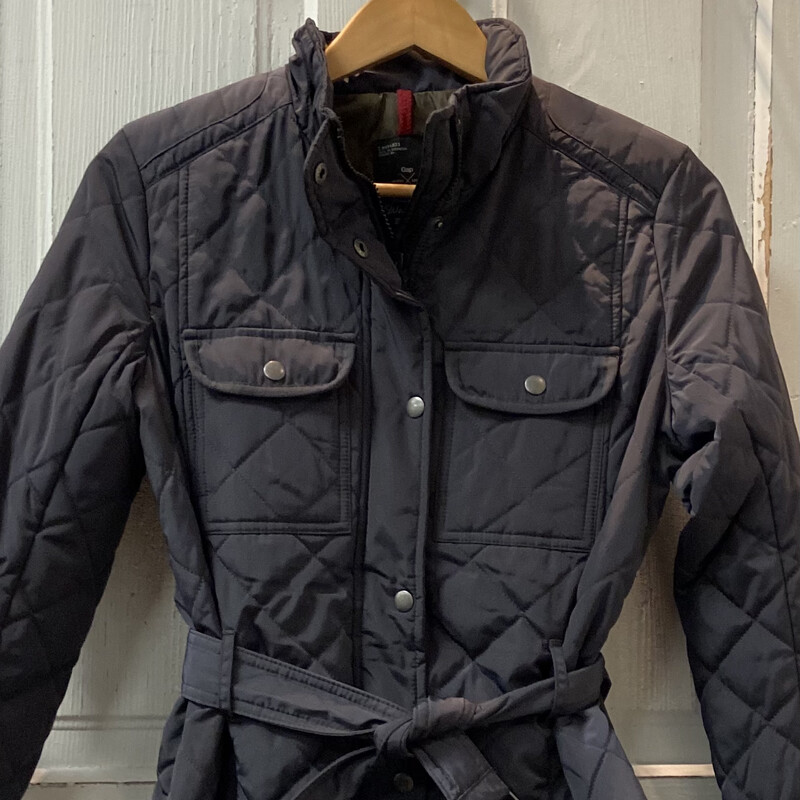 Charcoal Quilted Jacket