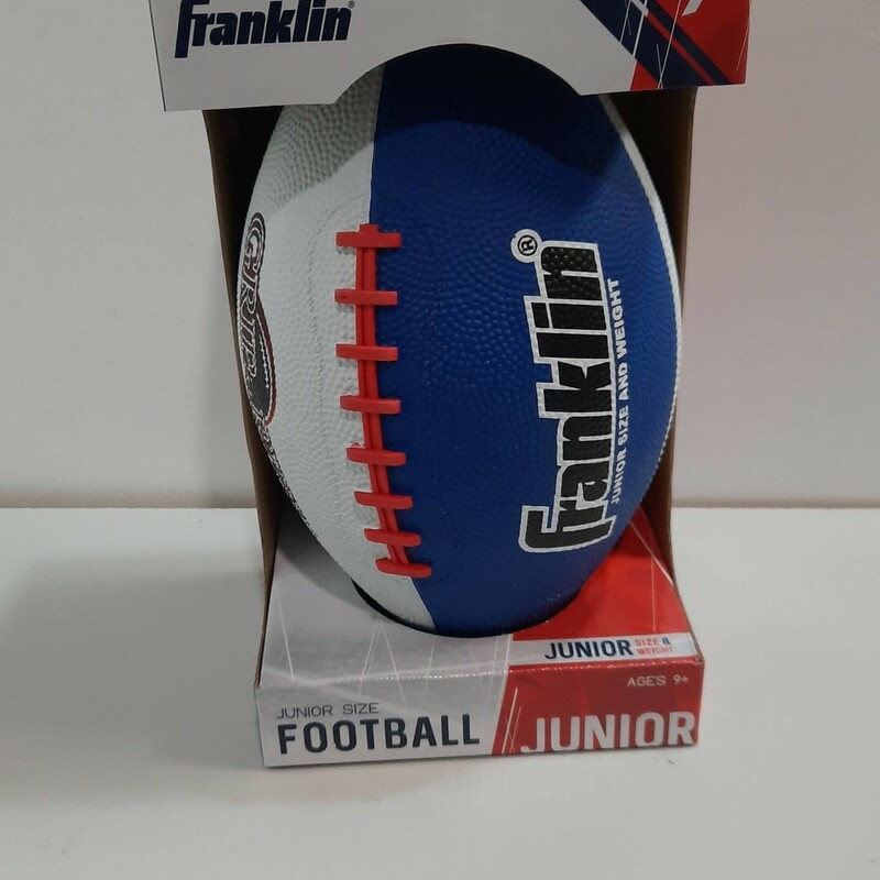 Football Rubber Red/White