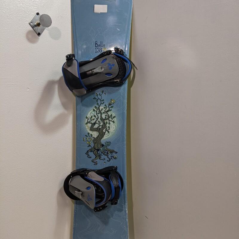 LTD Snowboard W/Burton Bi