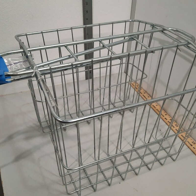 Wire Saddle Baskets