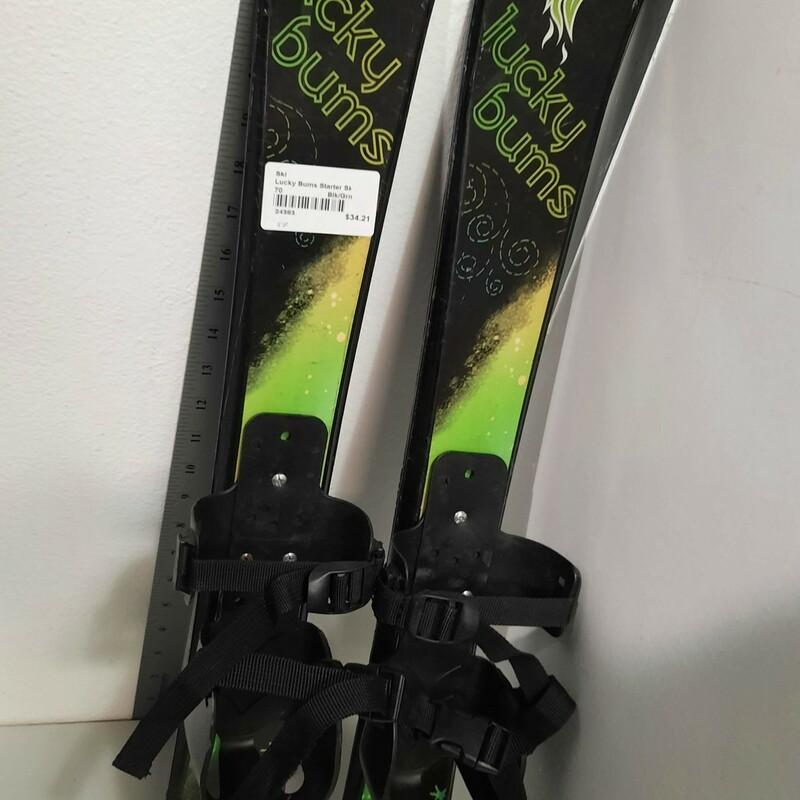 Lucky Bums Starter Skis