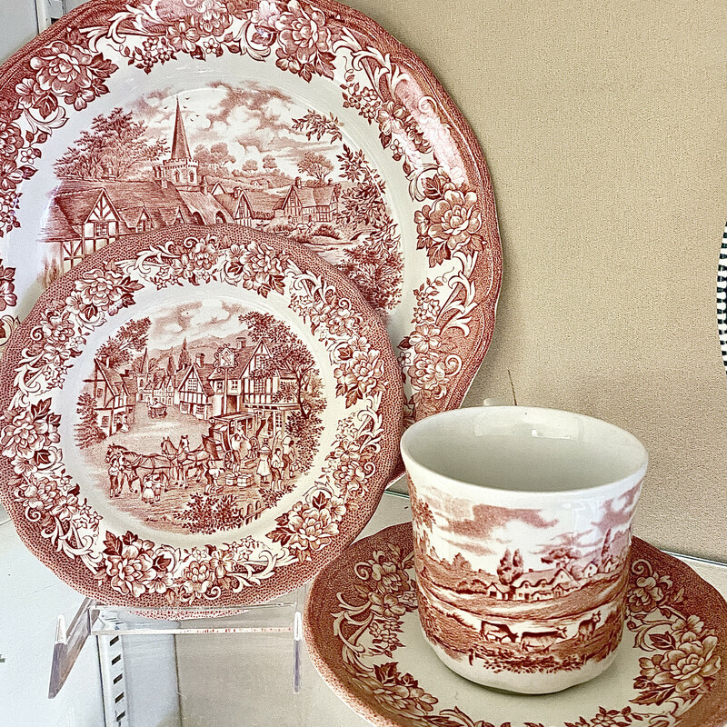 Dishes Ironstone Meakin