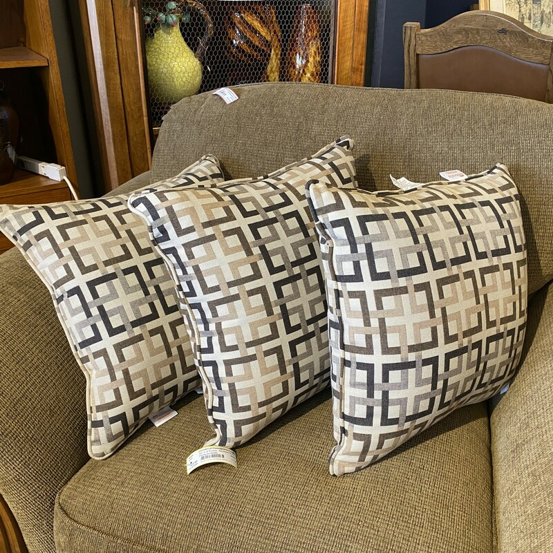Sunbrella Pillows Size: 17x17 Two more available: Items #85064 & 85065