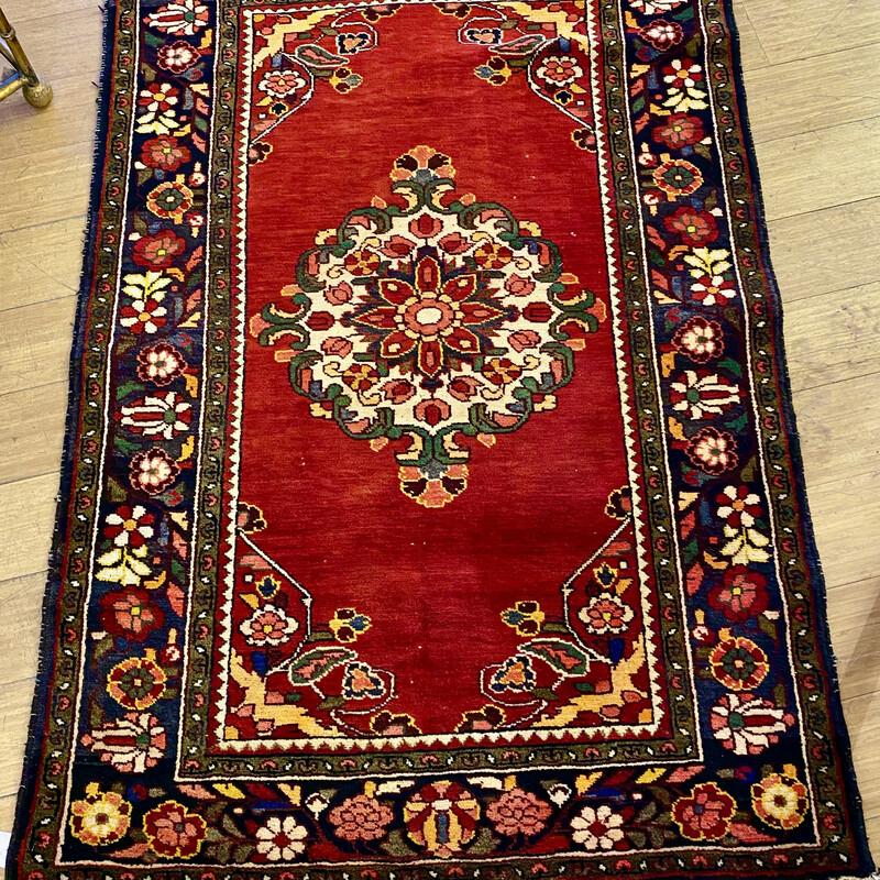 Rug Baba Kazak 9576, Handwoven, Size: 3.4x5