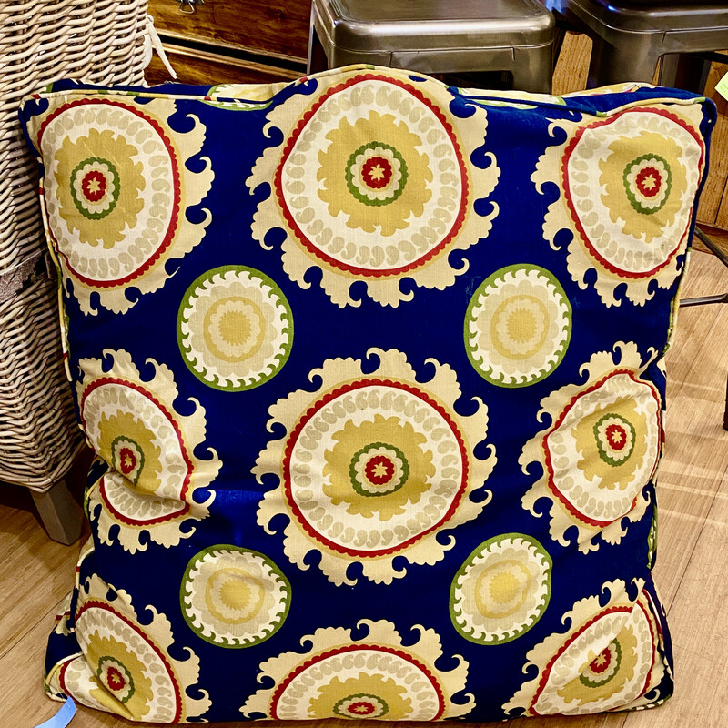 Custom Pillow - Great for the floor! Size: 36x7x36