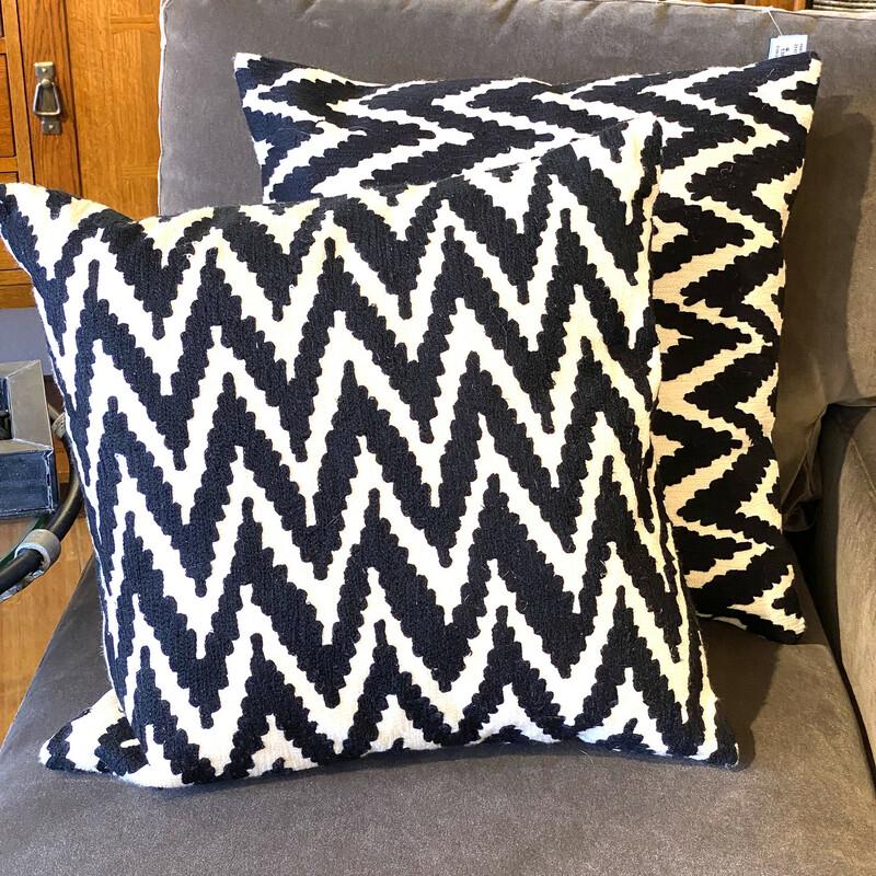 West Elm decorative pillow Size: 20x20 Second one available Item #86681