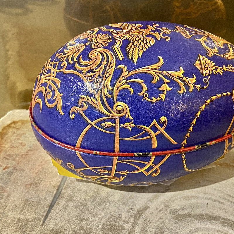 Bentleys of London Faberge egg with royal toffee inside!