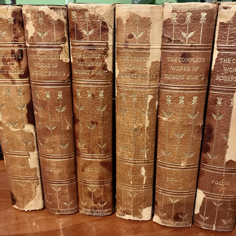 The Complete Works of Robert Burns Works, 6 Books,  Ayrshire Edition