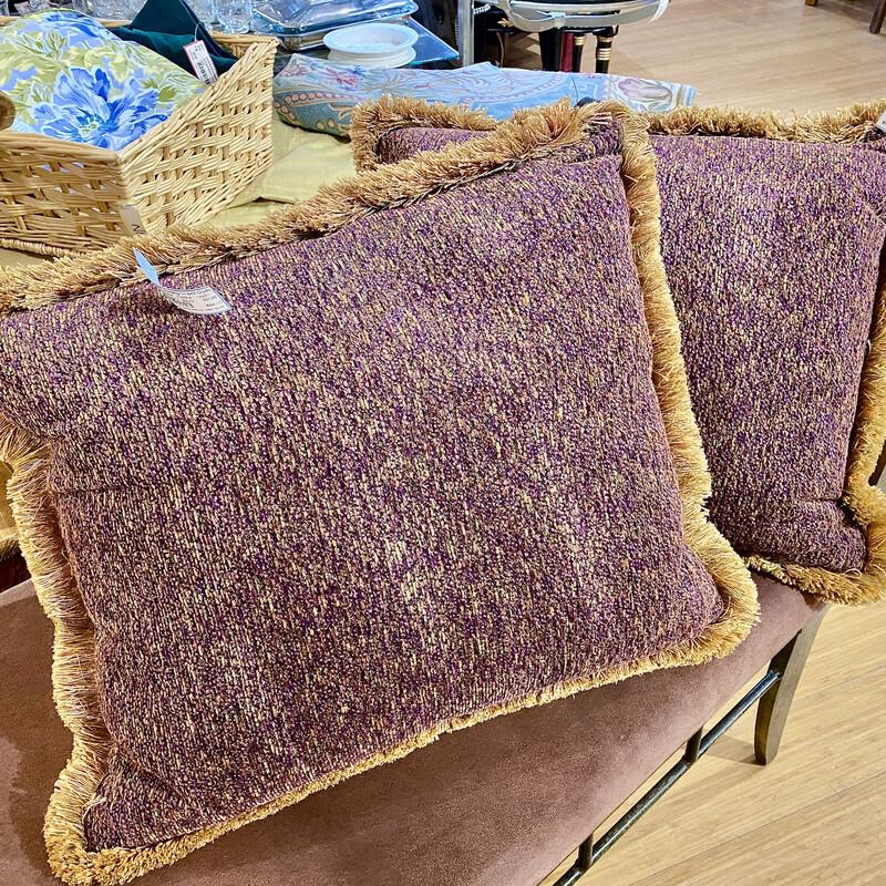 F. Stultz Decorative Pillow Size: 18x20  Second one available Item #88765