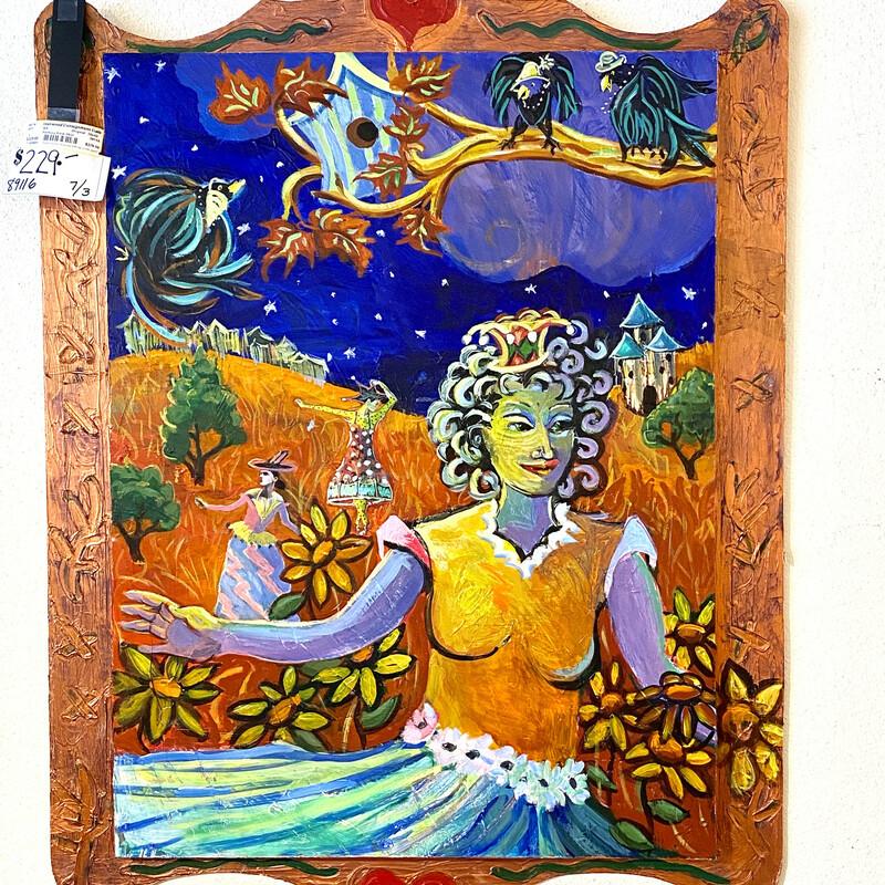 Painting Anne Skok