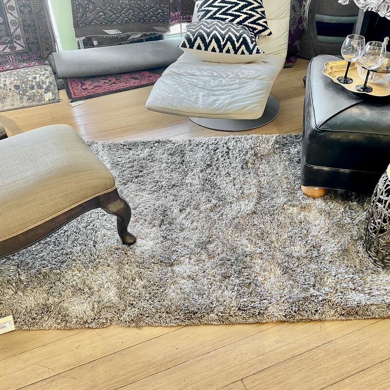 Martha Stewart Shag Rug Size: 4x6