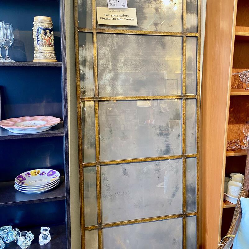 Uttermost Decorative Mirror Panel Size 29 x 79