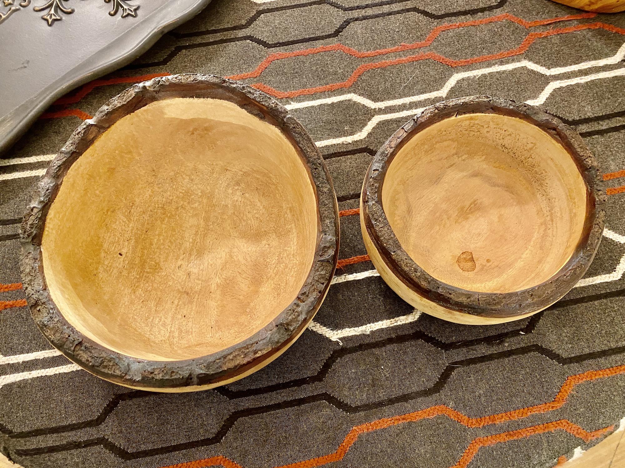 Bark Edge Bowl, Danny SEO,<br /> Size: 10x9x4<br /> Also available:<br /> Bark Edge Bowl, Danny SEO, Size: 7x4 $25, #89434