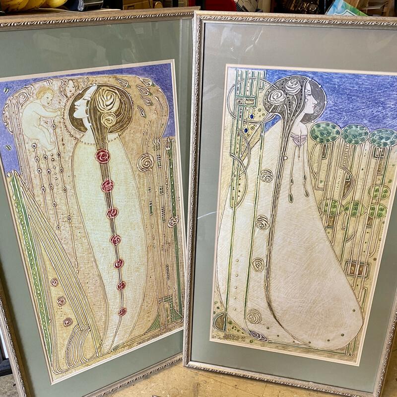 Print Deco J & D Vaughan