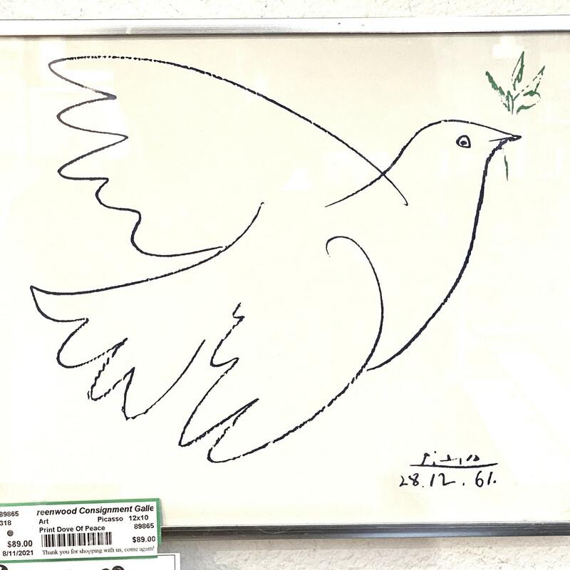 Print Dove Of Peace