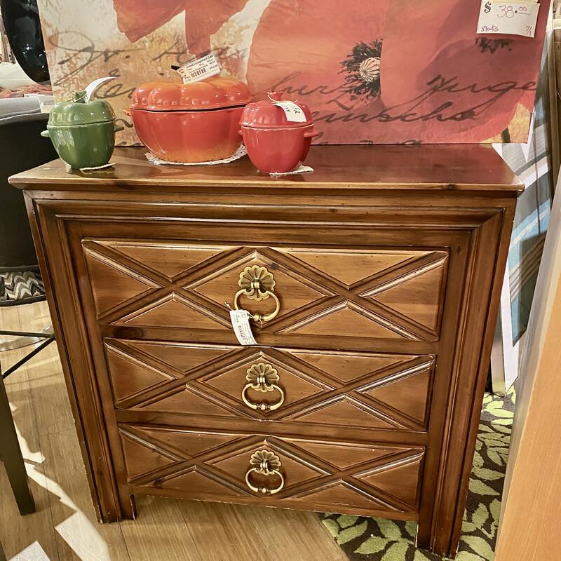 Dresser 3 Drwr Pine Shop