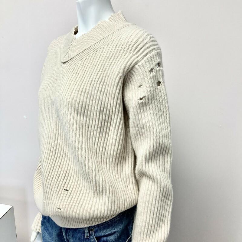 Helmut Lang Sweater, Beige, Size: XS