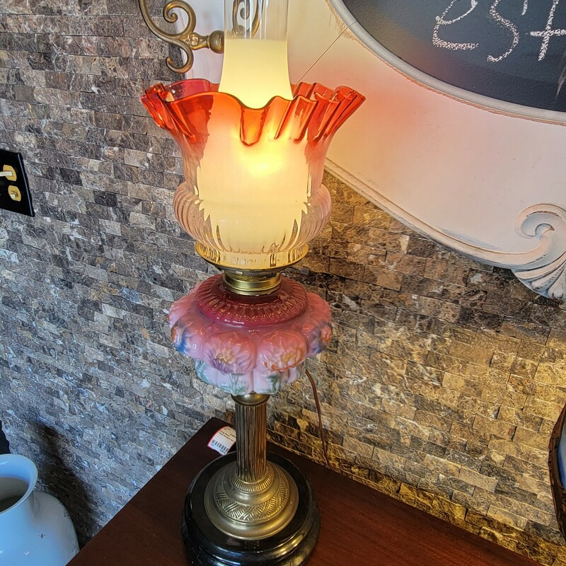 Vintage  Ornate Lamp
